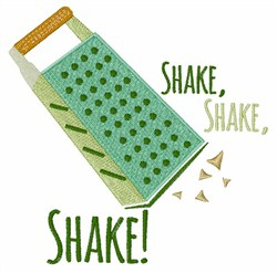 Shake Shake embroidery design