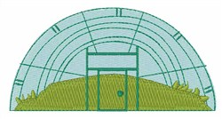 Greenhouse embroidery design