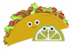 Taco embroidery design