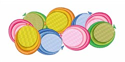 Water Balloons embroidery design