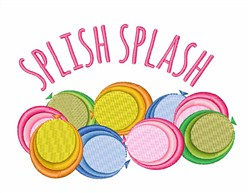 Splish Splash embroidery design