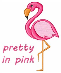 Pretty In Pink embroidery design