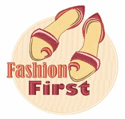 Fashion First Shoes embroidery design