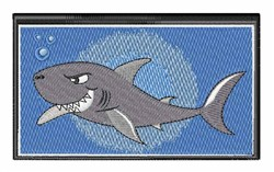 Shark In The Water embroidery design