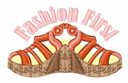 Fashion First Wedges embroidery design