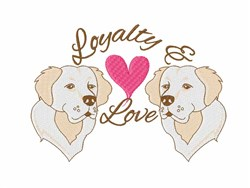 Loyalty & Love embroidery design