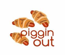 Piggin Out embroidery design