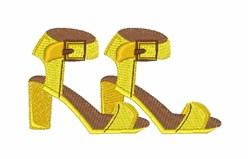 Retro Heels embroidery design