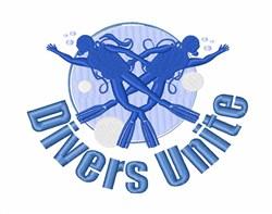 Divers Unite embroidery design