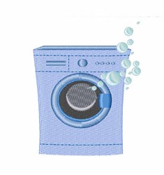 Washing Machine embroidery design
