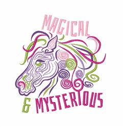 Magical & Mysterious embroidery design