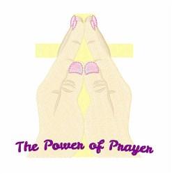 Power Of Prayer embroidery design