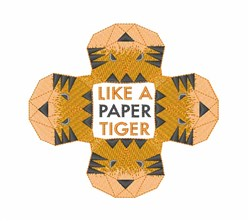 Paper Tiger embroidery design