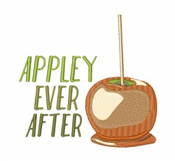 Appley Ever After embroidery design
