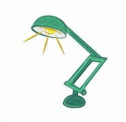 Desk Lamp embroidery design