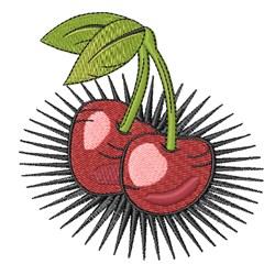 Cherry Tattoo embroidery design