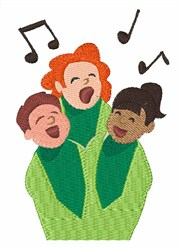 Childrens Choir embroidery design