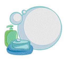 Soap Bubbles embroidery design
