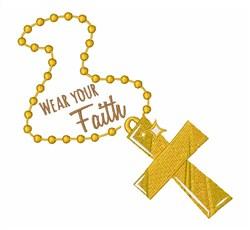 Wear Your Faith embroidery design