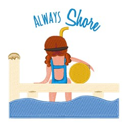 Always Shore embroidery design