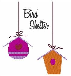 Bird Shelter embroidery design