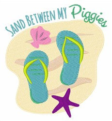Sandy Piggies embroidery design