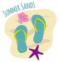 Summer Sands embroidery design