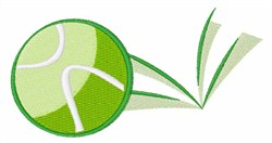 Tennis Ball Bounce embroidery design