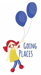 Going Places embroidery design