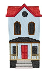 Townhouse embroidery design