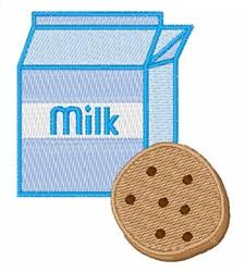 Cookie & Milk embroidery design