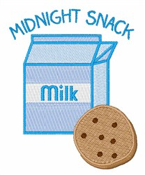 Midnight Snack embroidery design