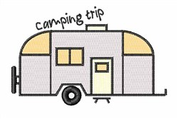 Camping Trip embroidery design