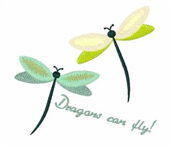 Dragons Cab Fly embroidery design