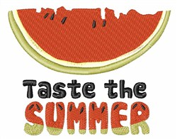 Taste Of Summer embroidery design