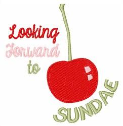 Cherry Sundae embroidery design