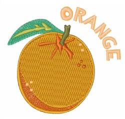 Orange Fruit embroidery design