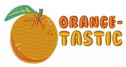 Orange-Tastic embroidery design