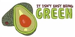 Green Avacado embroidery design