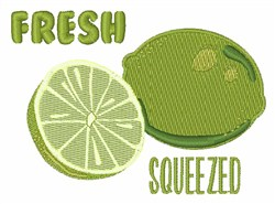 Lime Jiuice embroidery design