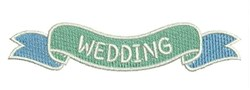 Wedding Banner embroidery design
