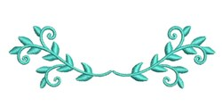 Vine Embellishment embroidery design