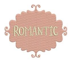 Romantic embroidery design