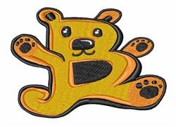 Bear Font B embroidery design