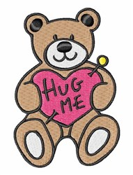 Hug Me embroidery design