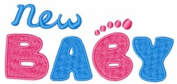New Baby embroidery design