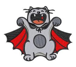 Vampire Cat embroidery design