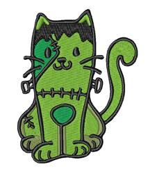 Frankenstein Cat embroidery design