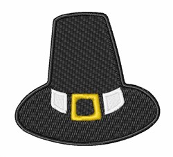 Pilgrim Hat embroidery design