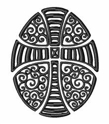 Religious Egg embroidery design